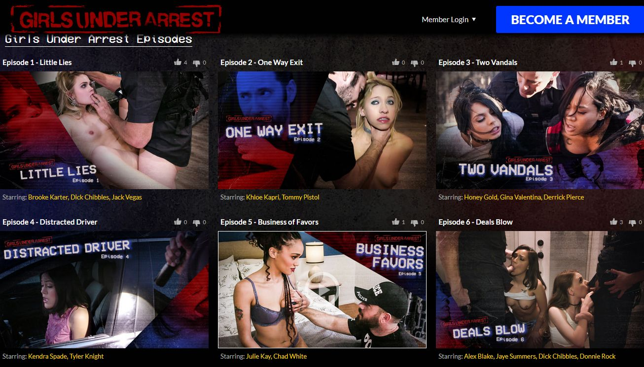 preview image password  for girlsunderarrest.com