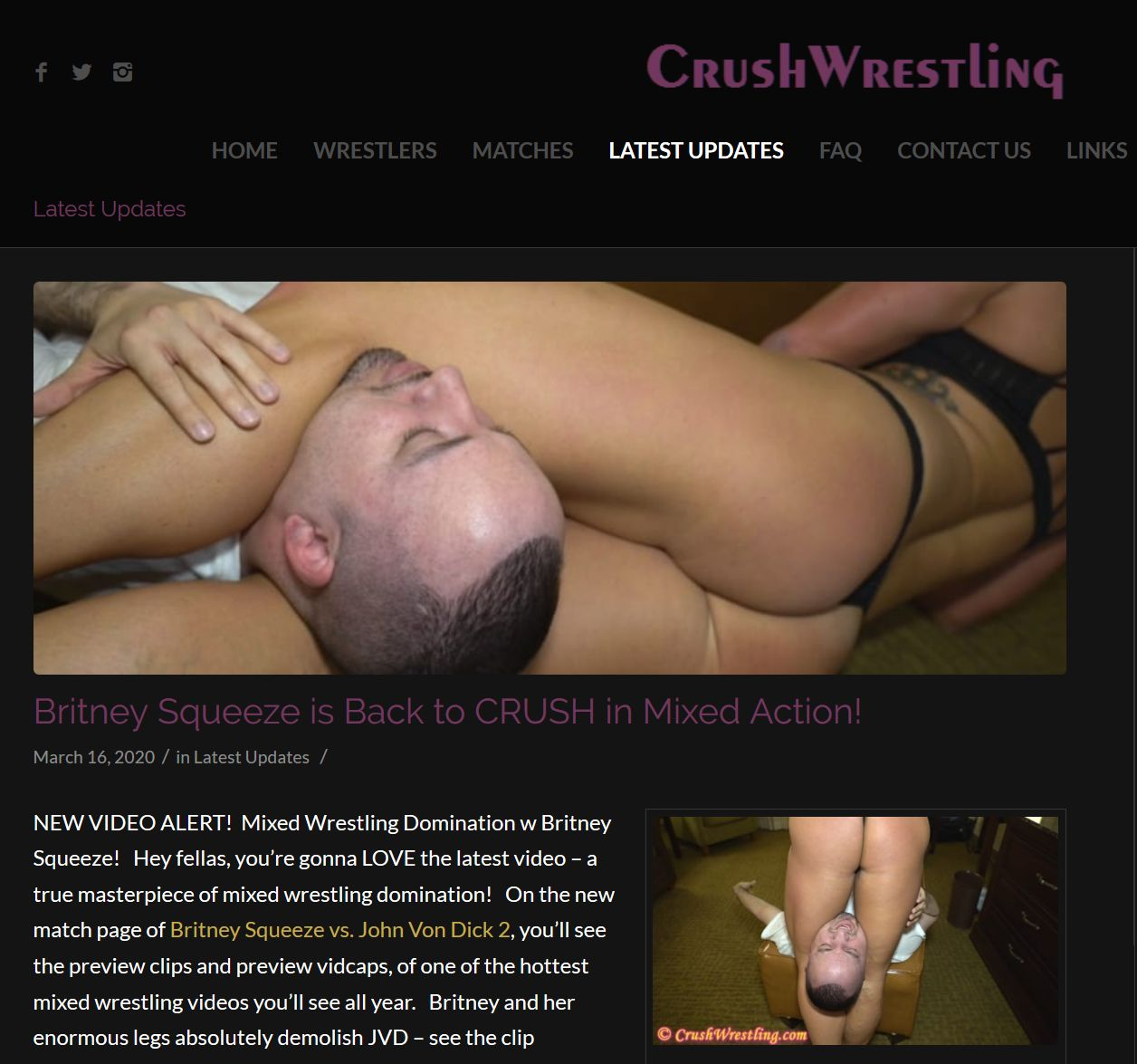 preview image password  for crushwrestling.com